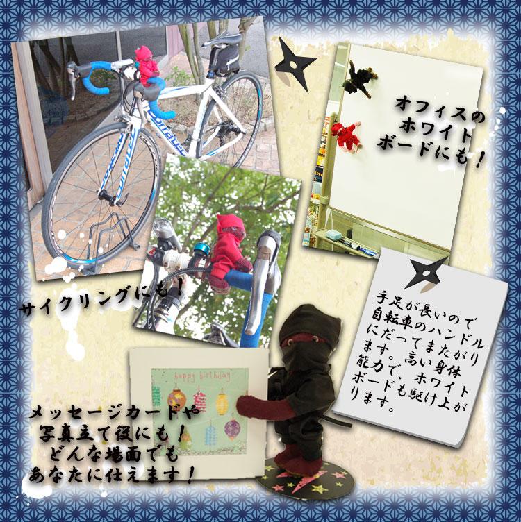 忍者ベア365【黒】(1日〜15日)【誕生日入り】