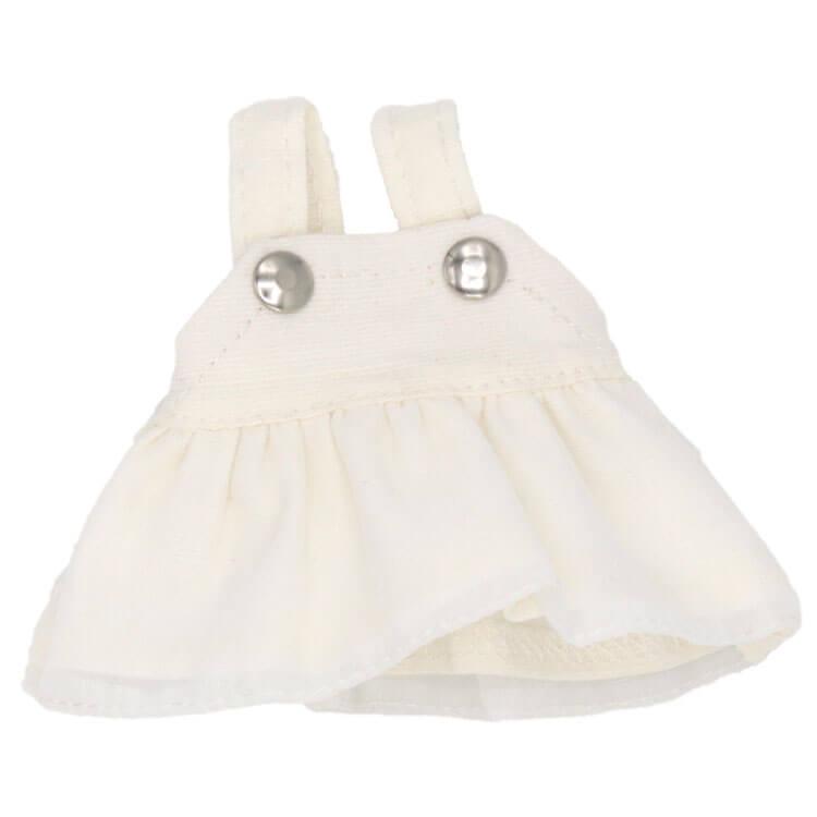 【メール便対象商品】ホワイトジャンパースカート