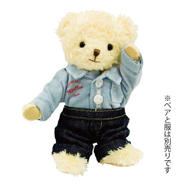 【メール便対象商品】 デニムポケットズボン (身長12cmぬいぐるみ用)
