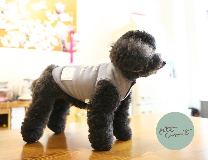 【Petit Coussinet】ロゴ刺繍トレーナー【Autumn&Winter】  ~Sweat-shirt~