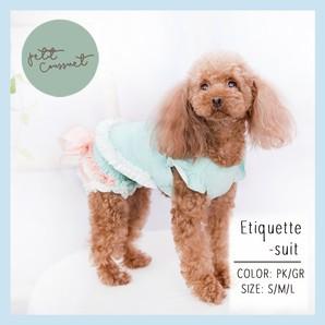 【Petit Coussinet】マカロンカラーエチケットスーツ【Etiquette-suit】