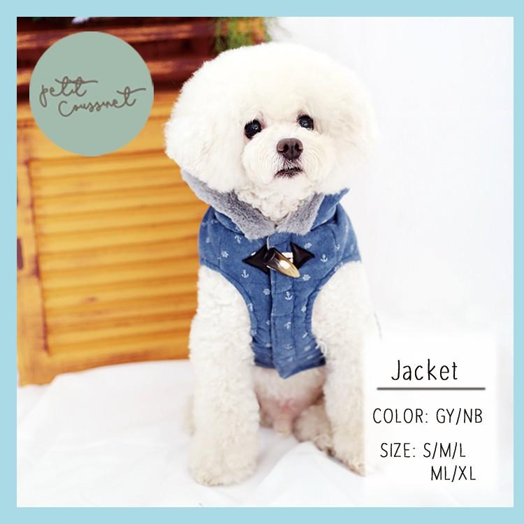 【Petit Coussinet】フード付きコーデュロイジャケット【Autumn&Winter】~Jacket~