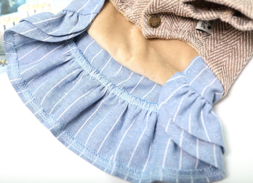 【Petit Coussinet】ジャガードニットワンピース【Autumn&Winter】~One-piece~
