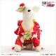 犬 ペット 着物レンタル女の子 わんこ 小型犬 kssr-007 ペット衣装 犬の着物 動物衣装 七五三 結婚式 高級生地 かわいい フォトブック 動画 プレゼント「紅白古典調に慶華帯」