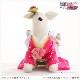 犬 ペット 着物レンタル女の子 わんこ 小型犬 kssr-009 ペット衣装 犬の着物 動物衣装 七五三 結婚式 高級生地 かわいい フォトブック 動画 プレゼント「ピンクきらきら星にかわいい慶華帯」