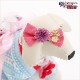 犬 ペット 着物レンタル女の子 わんこ 小型犬 kssr-010 ペット衣装 犬の着物 動物衣装 七五三 結婚式 高級生地 かわいい フォトブック 動画 プレゼント「水色ハートにモダン」