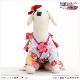 犬 ペット 着物レンタル 女の子 わんこ 小型犬 kmr-006 ペット衣装 犬の着物 動物衣装 七五三 結婚式 高級生地 かわいい フォトブック 動画 プレゼント「水色に慶びの古典吉祥帯」