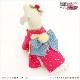 犬 ペット 着物レンタル 女の子 わんこ 小型犬 kmr-007 ペット衣装 犬の着物 動物衣装 七五三 結婚式 高級生地 かわいい フォトブック 動画 プレゼント「ピンクきらきら星に慶吉祥帯」