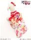 犬 ペット 着物レンタル 女の子 わんこ 中型犬 klr-002 ペット衣装 犬の着物 動物衣装 七五三 結婚式 高級生地 かわいい フォトブック 動画 プレゼント「水色に紅白慶花に赤金桜帯」