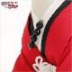 ペット着物レンタル 小型犬 男の子 dss-003 ペット衣装 SSサイズ 犬の着物 わんこ 高級生地 かわいい 結婚式 七五三 年賀状 撮影会 かっこいい「赤地模様にゼブラ銀袴」