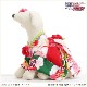 犬 ペット 着物レンタル 女の子 わんこ 小型犬 ksr-012 ペット衣装 犬の着物 動物衣装 七五三 結婚式 高級生地 かわいい フォトブック 動画 プレゼント「緑地に吉祥縁起柄とピンク市松帯」