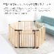 ■木製サークル フレックス 形自由自在 六角形 長方形 増やせる 拡張パネル 広々 折りたたみ たためる 小型犬 中型犬 多頭飼い ペット サークル 犬用サークル ケージ ゲージ 犬用品 犬
