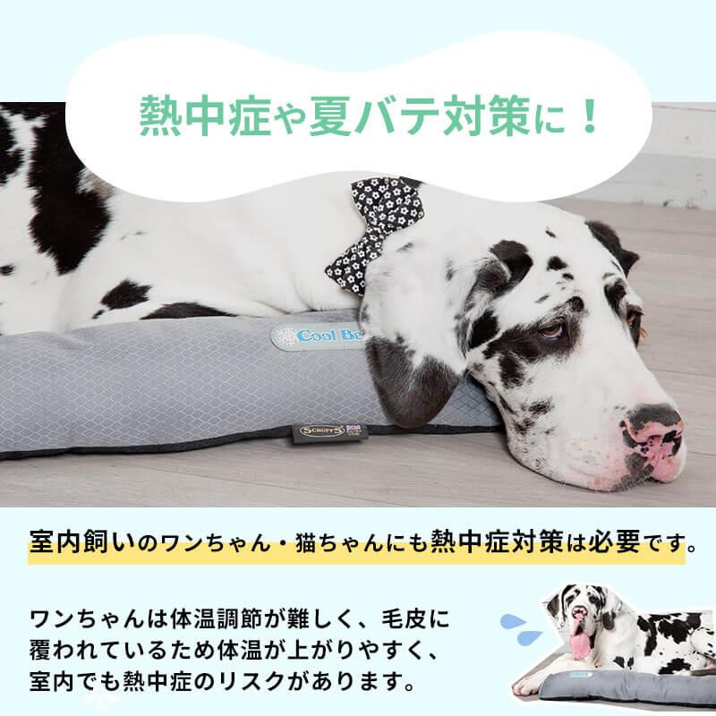 ペット ベッド クール ベッド (M) イギリスデザイン ブランド 犬 犬用 おしゃれ 洗える 洗濯  春 夏 猫 ペット用 カドラー マット クッション  通気性 ゆったり ひんやり 冷却 ジェル クールマットクールマット 冷感マットマット涼感 冷感 熱中症 暑さ対策