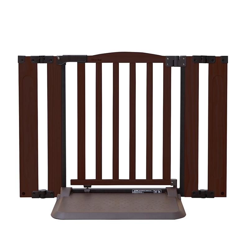 おくだけ ドアーズ Woody-Plus S  木製 ペットゲート