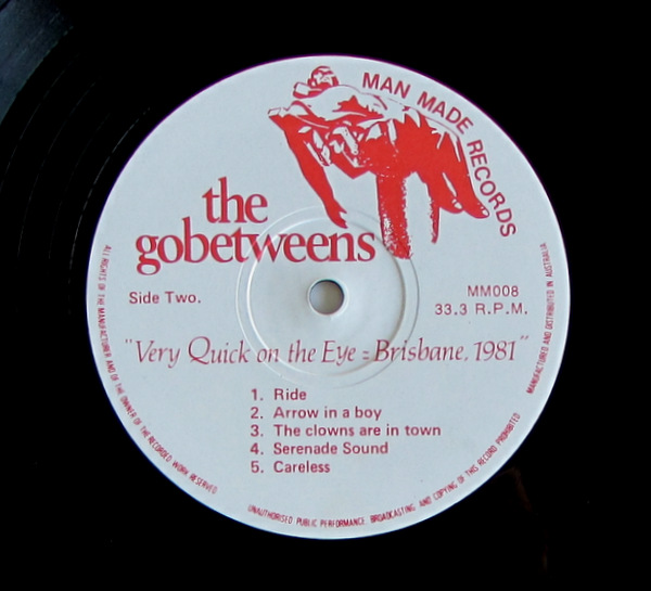 The Gobetweens - Very Quick On The Eye = Brisbane, 1981