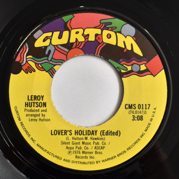 Leroy Hutson - Lover's Holiday / So Much Love