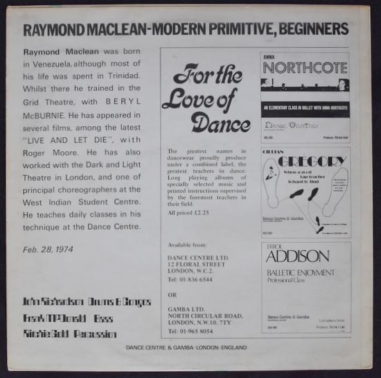 Raymond Maclean - Modern Primitive