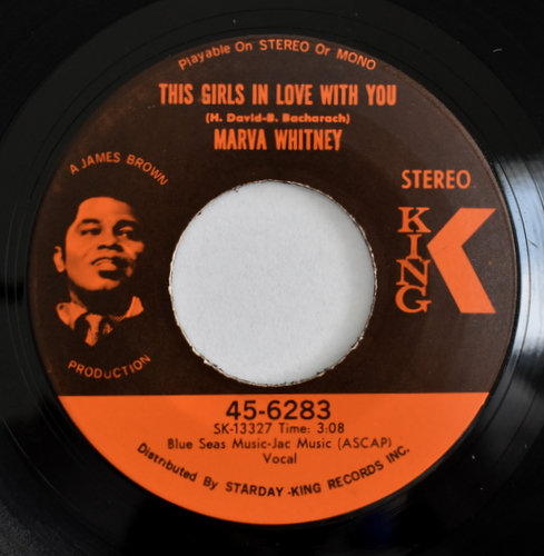 Marva Whitney - He's The One / This Girls In Love With You