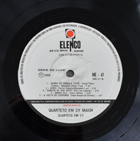Quarteto Em Cy - Em Cy Maior  [LP]
