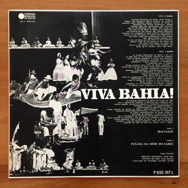 Conjunto Folclorico Da Bahia - Viva Bahia!