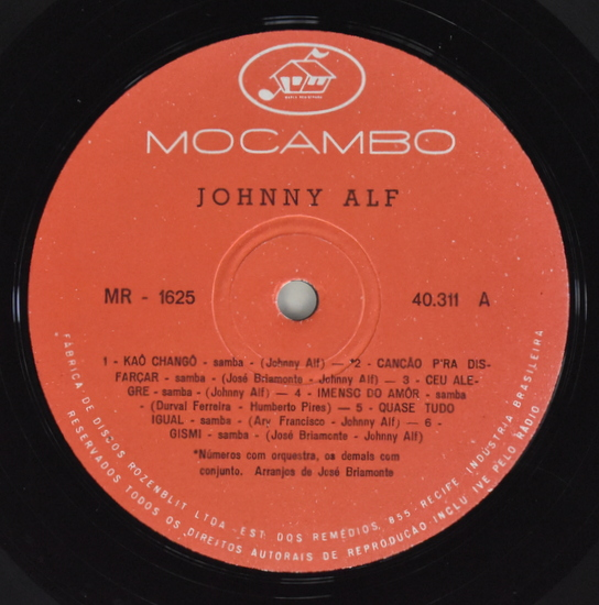 Johnny Alf - Johnny Alf