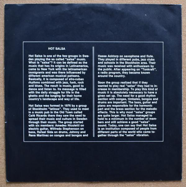 Hot Salsa - Hot Salsa  [LP]