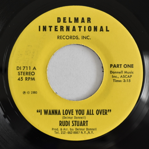 Rudi Stuart - I Wanna Love You All Over (Part One) / (Part Two)