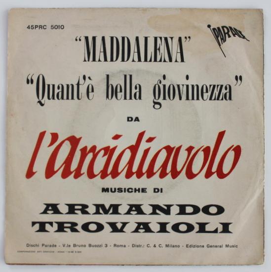 Armando Trovaioli - Maddalena