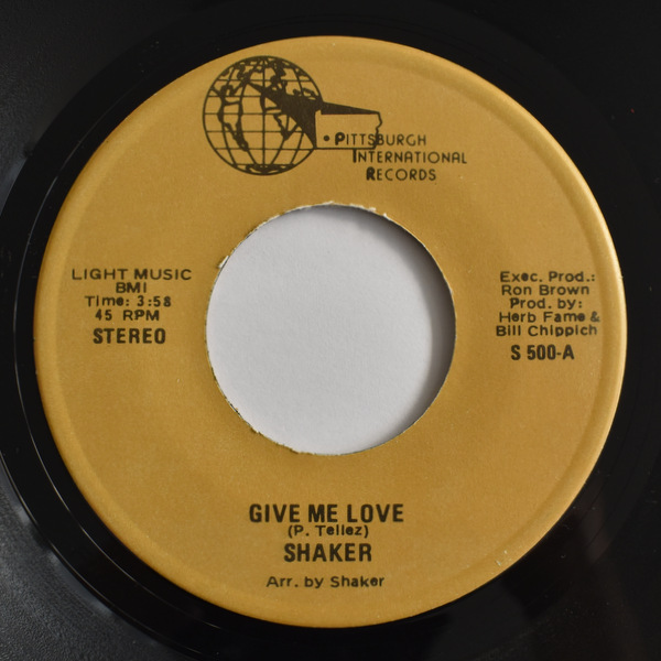 Shaker - Give Me Love / Since We're Not Together