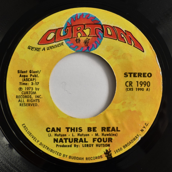 Natural Four - Can This Be Real / Try Love Again