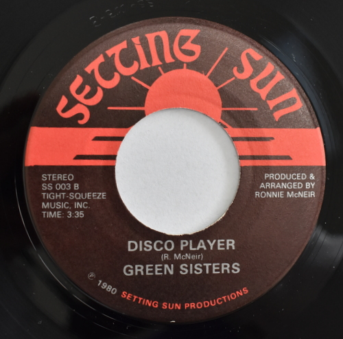 Green Sisters - Win Place & Show / Disco Player
