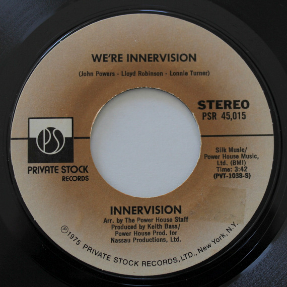 Innervision - Honey Baby (Be Mine) / We're Innervision