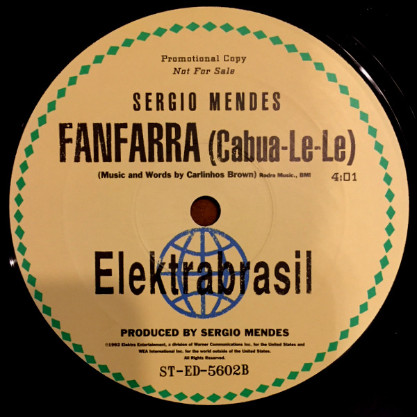 Sergio Mendes - What Is This ? / Fanfarra ( Cabua - Le - Le )