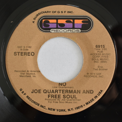 Joe Quarterman And Free Soul - I'm Gonna Get You / No