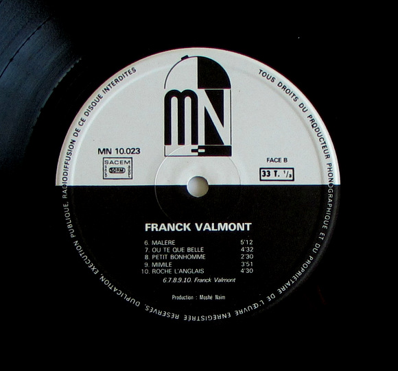 Franck Valmont Et Syncro Rhytmic Eclectic Language - ST