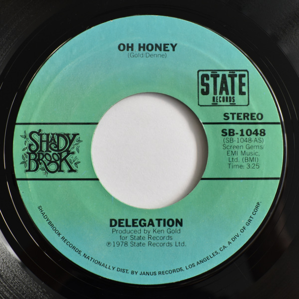 Delegation - Oh Honey / Let Me Take You To The Sun / Oh Honey