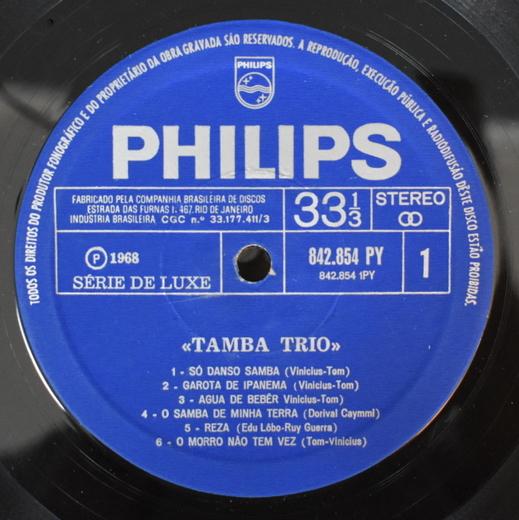 Tamba Trio - Tamba Trio