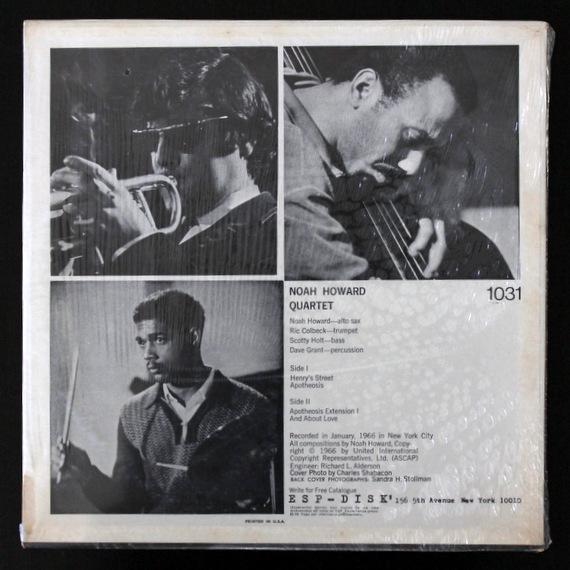 Noah Howard Quartet - Noah Howard Quartet