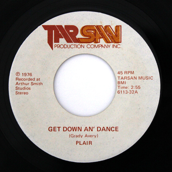Plair - Get Down An' Dance / Brother Man On The Corner