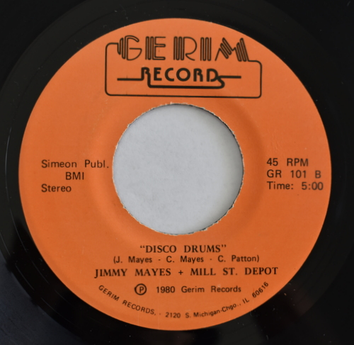 Jimmy Mayes + Mill St. Depot - Social Security / Disco Drums