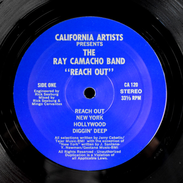 The Ray Camacho Band - Reach Out