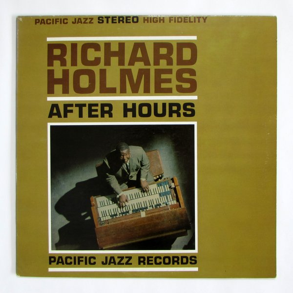 "Richard Holmes - After Hours オリジナル "" Jenne "" 収録"