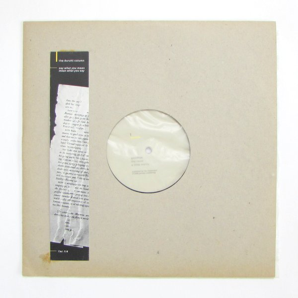 The Durutti Column - Say What You Mean, Mean What You Say