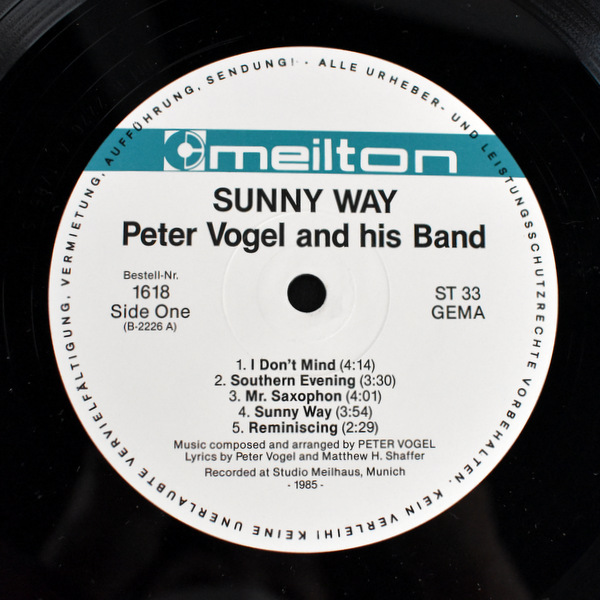 Peter Vogel And His Band - Sunny Way
