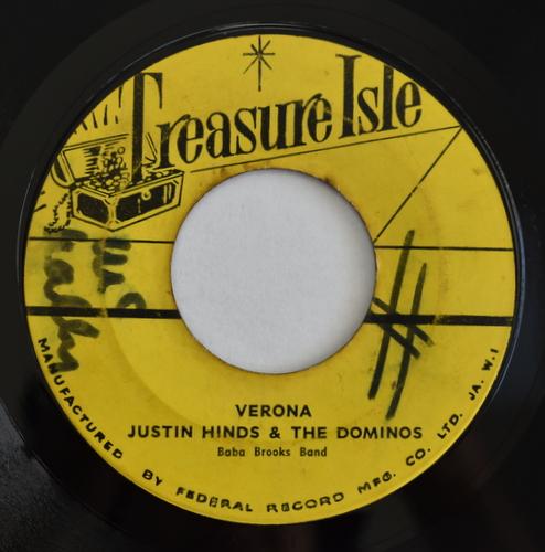 Baba Brooks Band / Justin Hinds & The Dominos - Seven Guns Alive / Verona