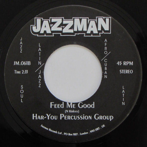 Har-You Percussion Group -  Welcome To The Party / Feed Me Good