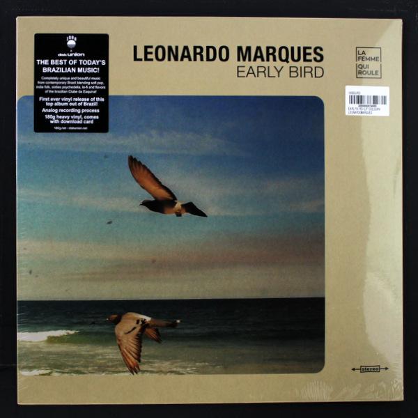 Leonardo Marques - Early Bird  クリア ヴァイナル 日本限定 残り1枚です!