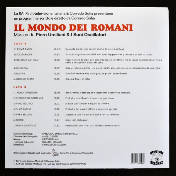 Piero Umiliani & I Suoi Oscillatori - Il Mondo Dei Romani