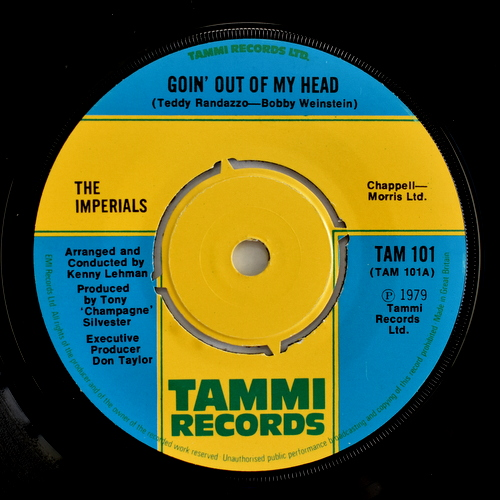 The Imperials - Goin' Out Of My Head / I Just Wanna Be Your Lovi'n Man