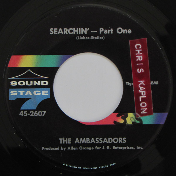 The Ambassadors - Searchin' - Part One / Searchin' - Part Two